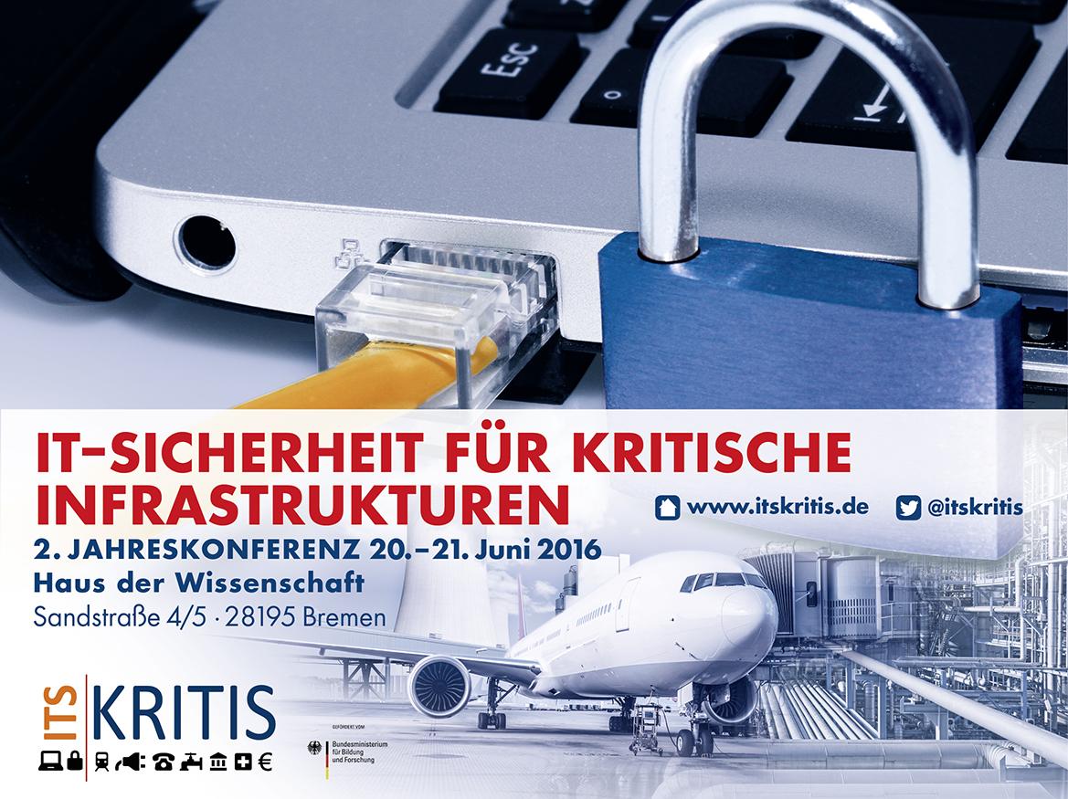 2. Jahreskonferenz zur IT-Sicherheit in Kritischen Infrastrukturen